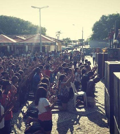 DNJ em Prado (BA) reúne 4 mil jovens