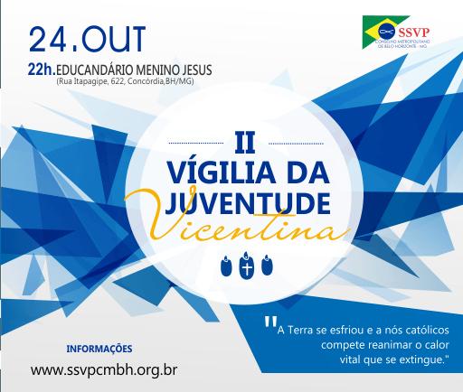 Jovens vicentinos de Belo Horizonte II Vigília da Juventude