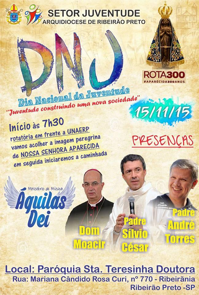 DNJ e Projeto #Rota300 na Arquidiocese de Ribeirão Preto
