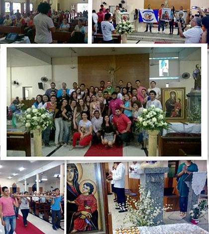 Centenário Arquidiocese de Fortaleza: missão jubilar reuniu jovens e adultos no último domingo