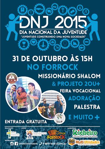 DNJ da Paraíba promete animar a juventude