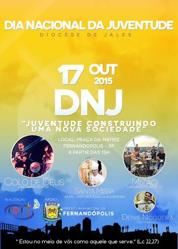 Diocese de Jales reunirá 5 mil jovens no DNJ