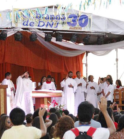 Dia Nacional da Juventude na Diocese de Salgueiro (PE)
