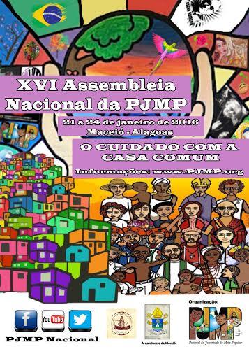 Confira a carta de motivação para a XVI Assembleia Nacional da PJMP
