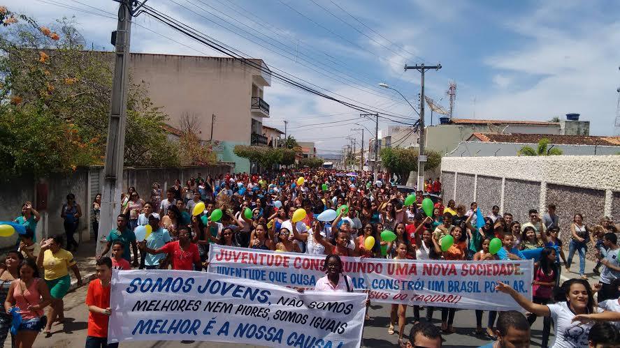 Diocese de Livramento de Nossa Senhora celebra DNJ