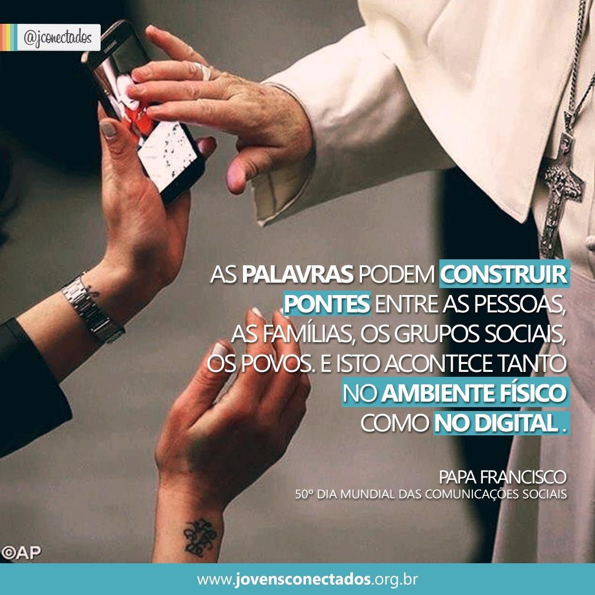 Mensagem do Papa para o 50° Dia Mundial das Comunicações Sociais