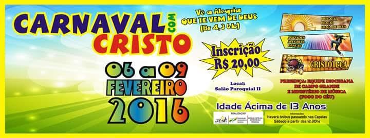 Ministério Jovem promove retiro de Carnaval em Maracaju