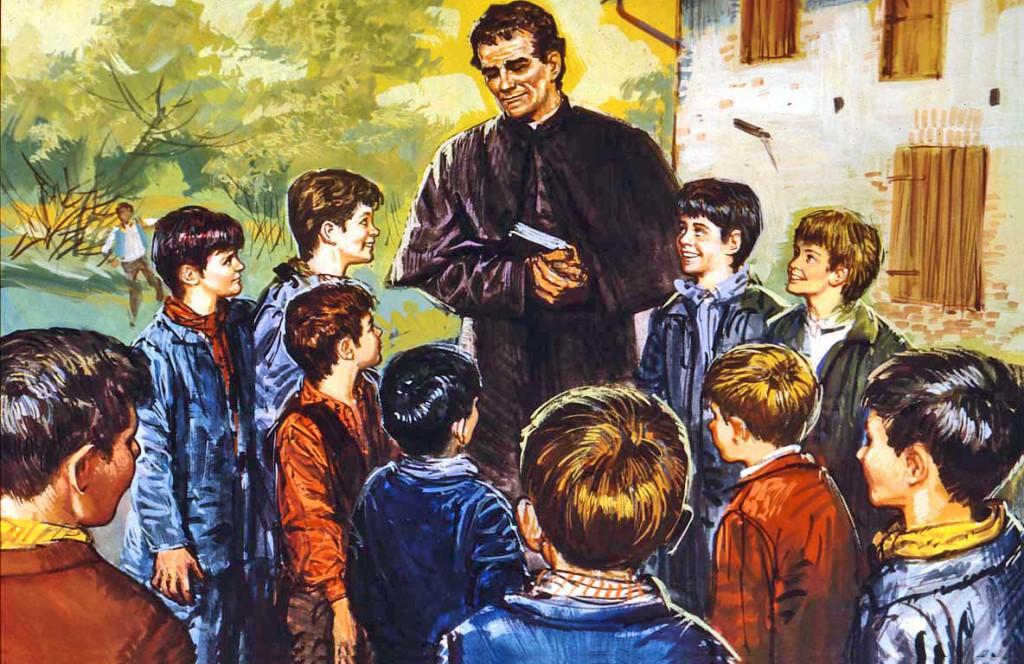 Mensagem aos jovens Salesianos pelo Dia de Dom Bosco