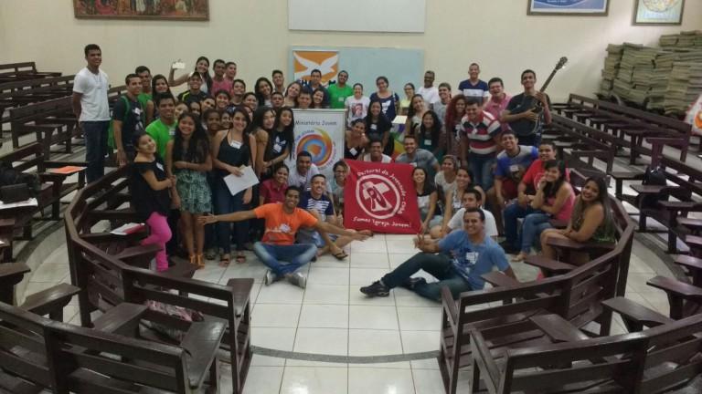 Setor Juventude de Rio Branco realiza estudo formativo