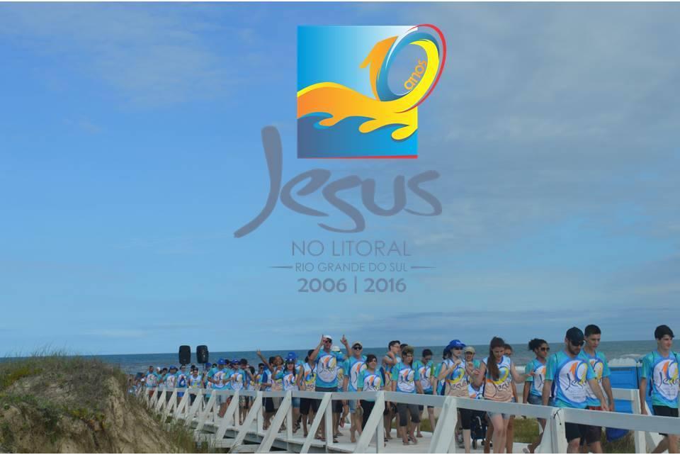 Jesus no Litoral completa 10 anos de missão no RS