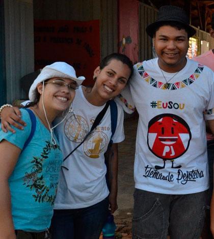 Jovens de Niterói completam primeira semana de missão em Rondônia
