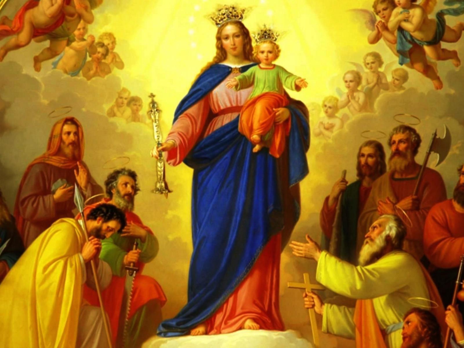 Consagração dos jovens à Virgem Maria