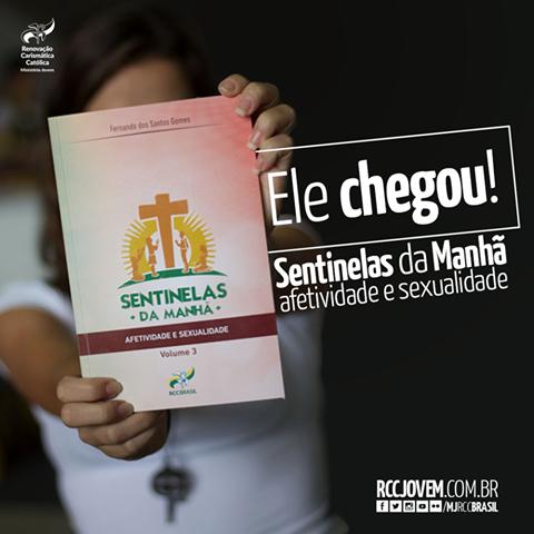 Ministério Jovem da RCC lança novo livro da série Sentinelas da Manhã