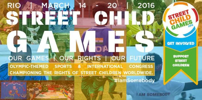 Street Child Games: organização internacional realizará mini-olimpíadas no Rio de Janeiro