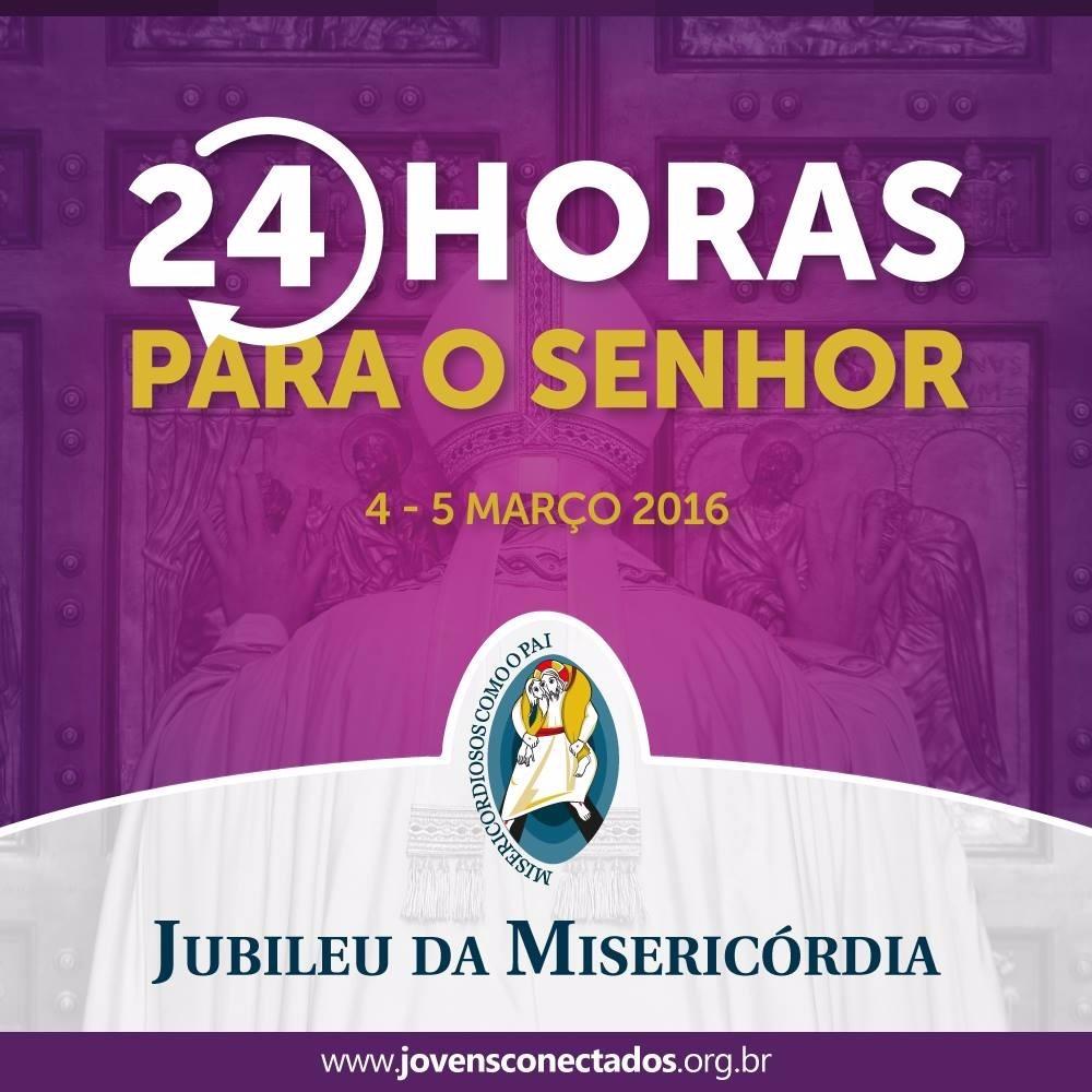"""Igreja inicia as """"24 horas de oração para o Senhor"""""""