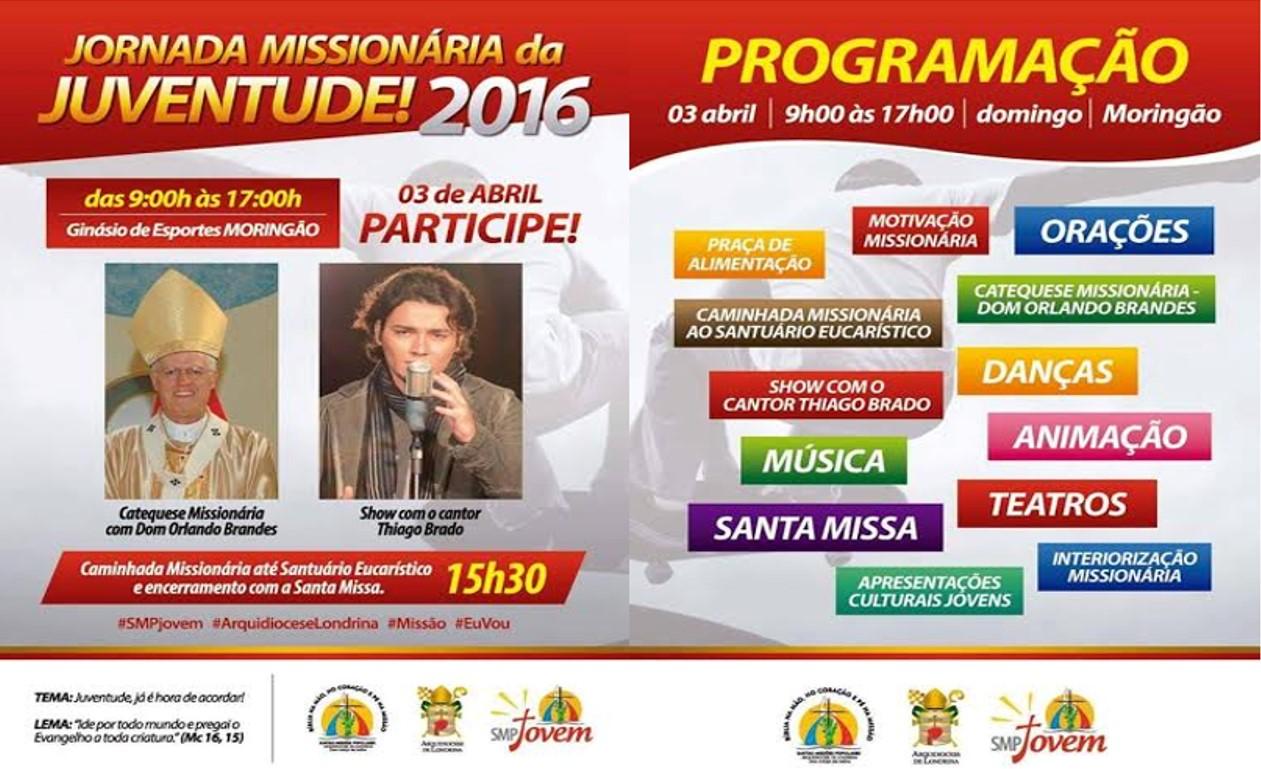 Arquidiocese de Londrina realiza Jornada Missionária da Juventude