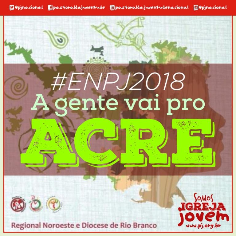 Rio Branco sediará o 12° Encontro Nacional da Pastoral da Juventude, em 2018