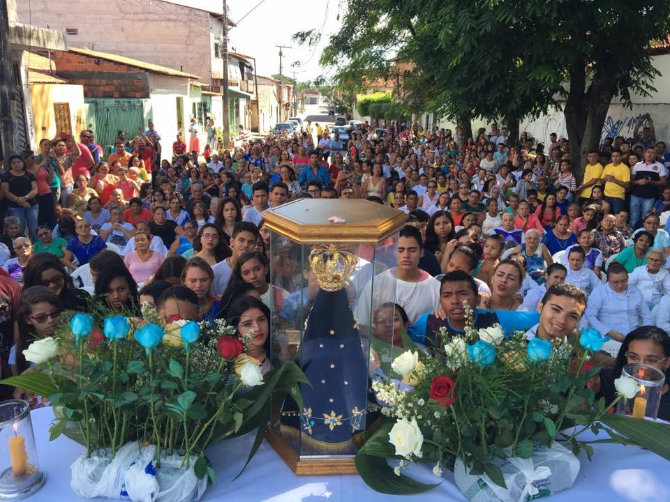#Rota300 em Fortaleza: imagem de N. Srª. Aparecida irá ao encontro dos jovens