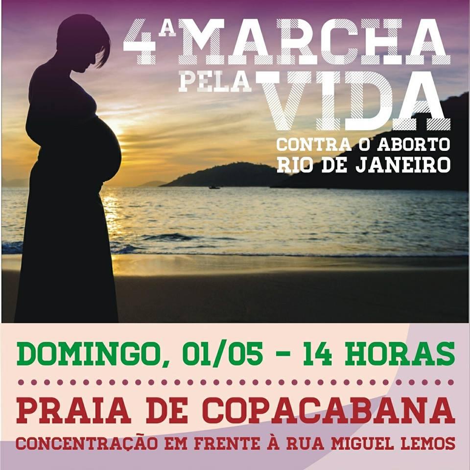Marcha pela Vida ocupará Copacabana no dia 1º de maio e ao som da banda Expresso HG