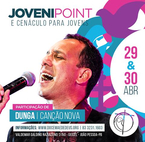 JoveniPoint e Cenáculo para jovens na DMD em João Pessoa