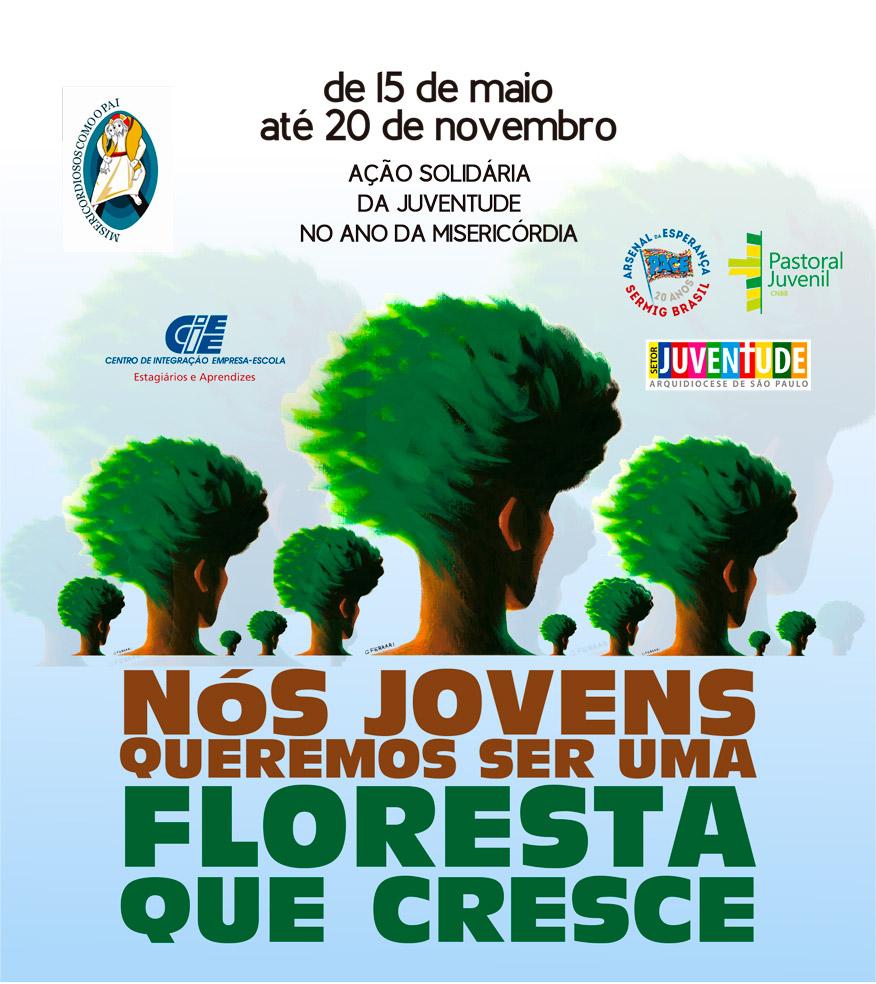 Floresta que cresce, Ação Solidária no Ano da Misericórdia