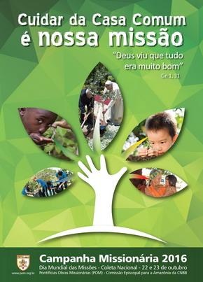 Equipe das POM divulga tema e cartaz da Campanha Missionária 2016