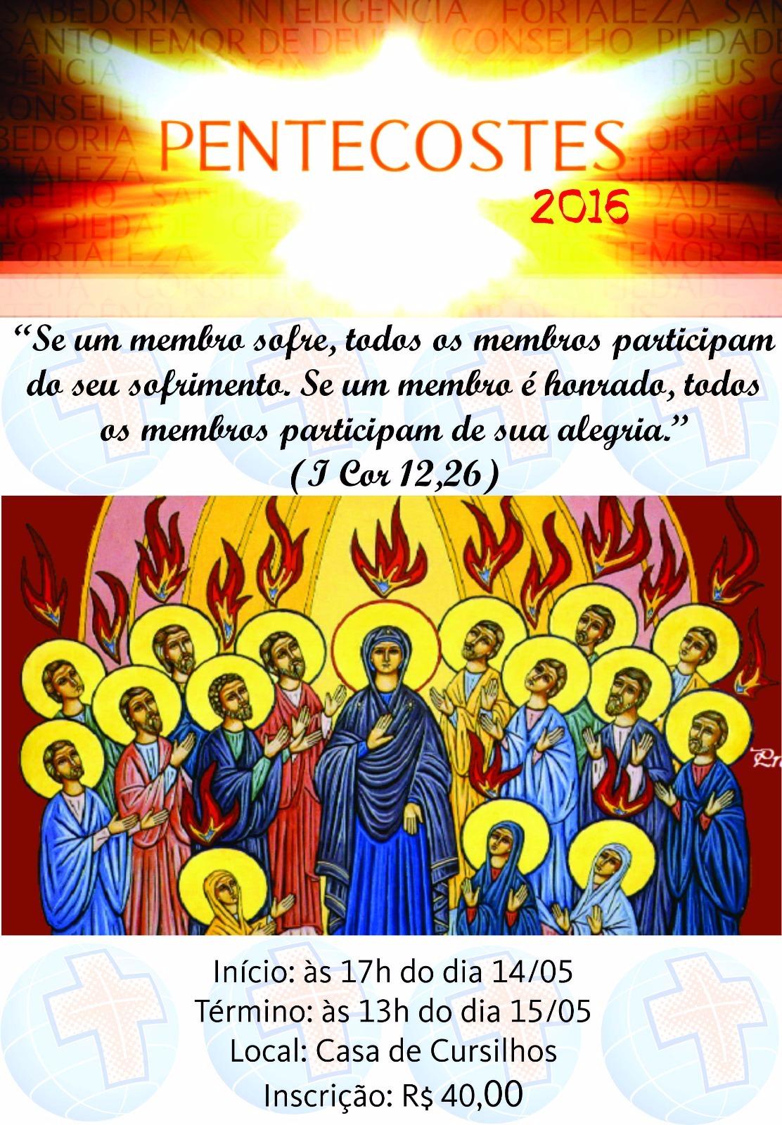 Movimento de Cursilhos de Cristandade de Fortaleza promove Vigília de Pentecostes