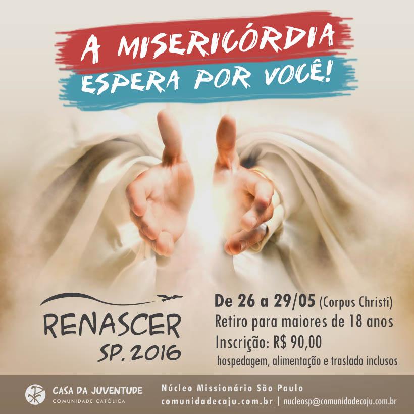 CAJU realiza retiro Renascer em São Paulo