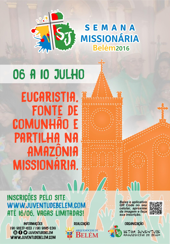 Juventude de Belém do Pará se prepara para vivenciar Semana Missionária