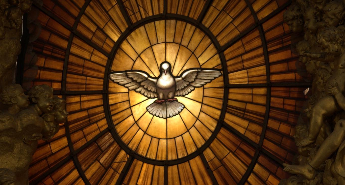 Deixe o Espírito Santo iluminar o seu interior