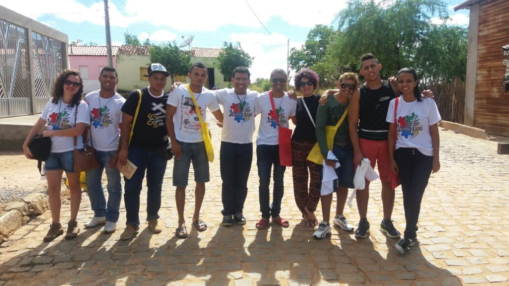 Jovens participam da 12ª Puxada Católica de Uauá (BA) e Missão Jovem