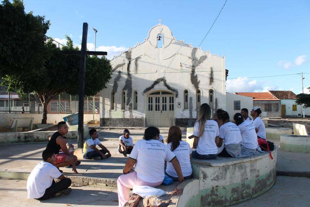 Missões Jovens no município de Uauá, no povoado de Caldeirão da Serra (BA)