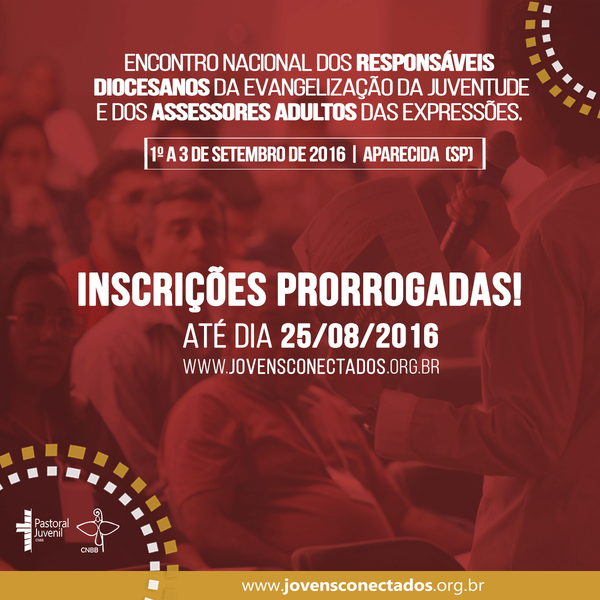 Inscrições prorrogadas para o encontro dos responsáveis adultos pela evangelização da juventude