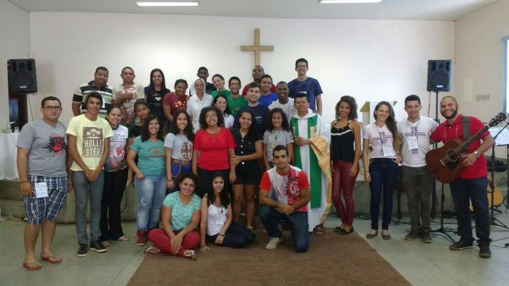 O evento reuniu diversos líderes jovens na cidade de Imperatriz-MA