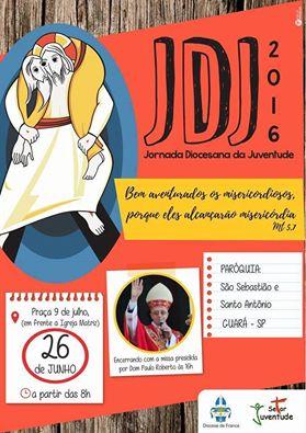 Diocese de Franca realizará JDJ 2016