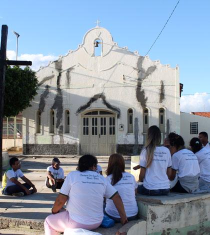 Missões Jovens no município de Uauá, em Juazeiro (BA)