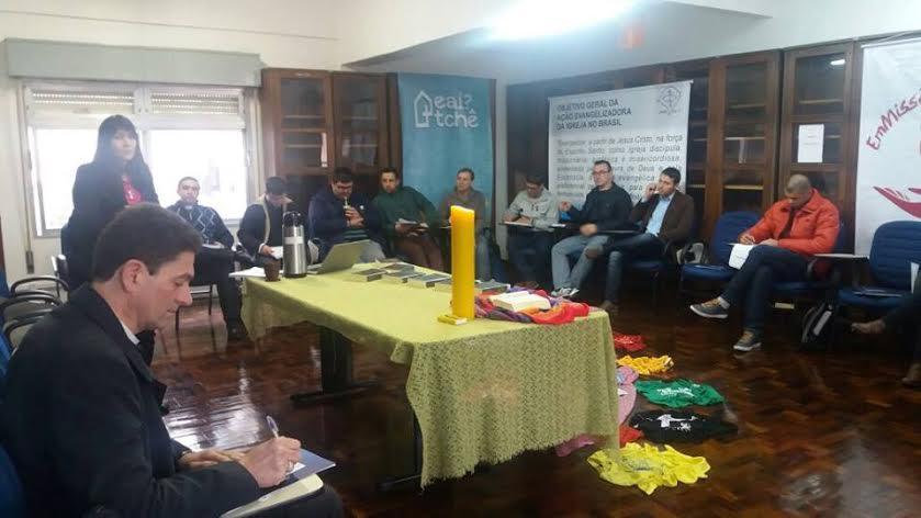 Assessores de juventude do Regional Sul 3 se reúnem