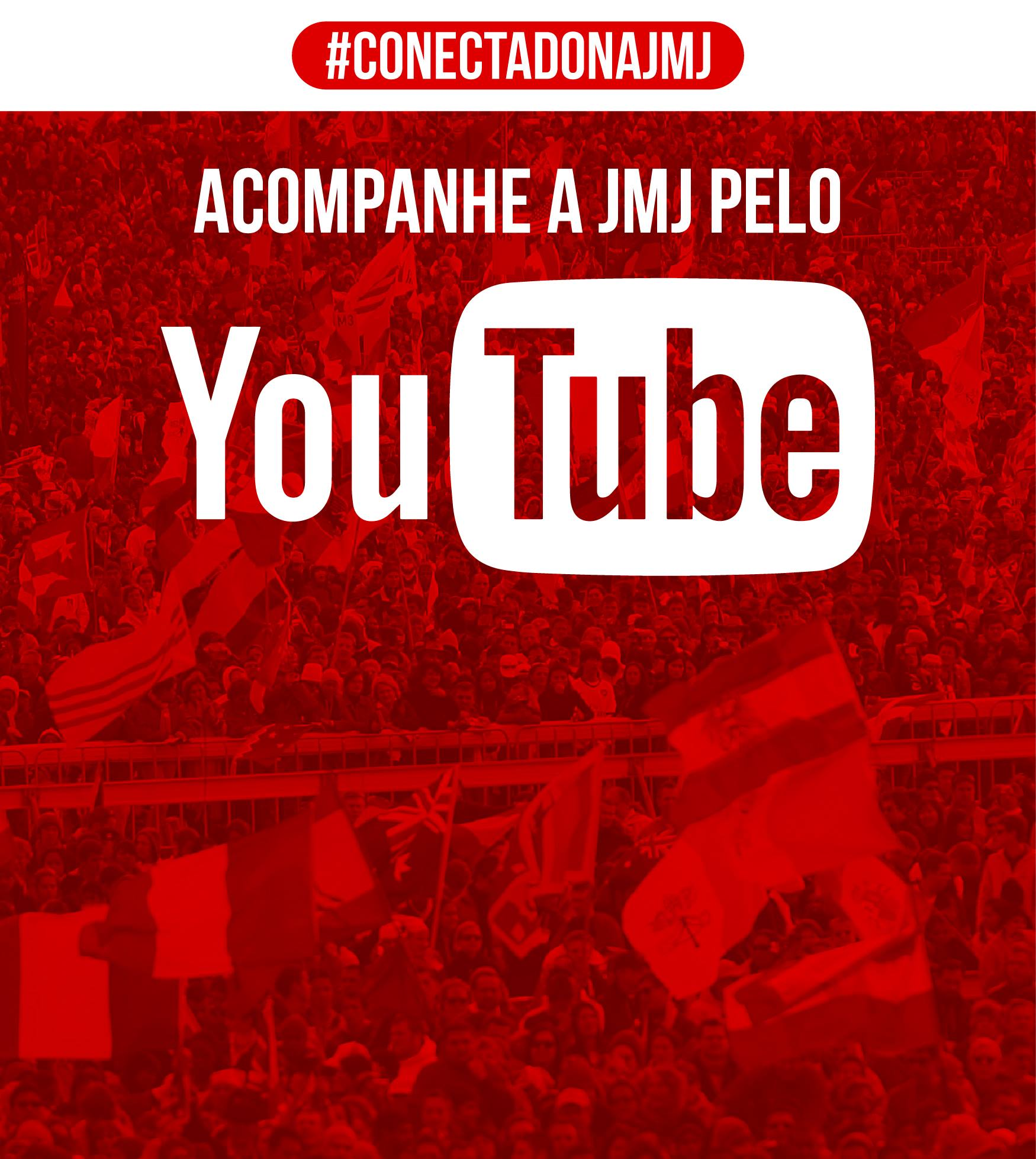 Acompanhe a JMJ2016 ao vivo do YouTube