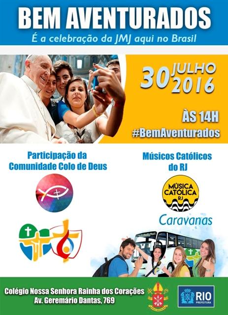 Cariocas vão celebrar os 3 anos de JMJ Rio em sintonia com Cracóvia