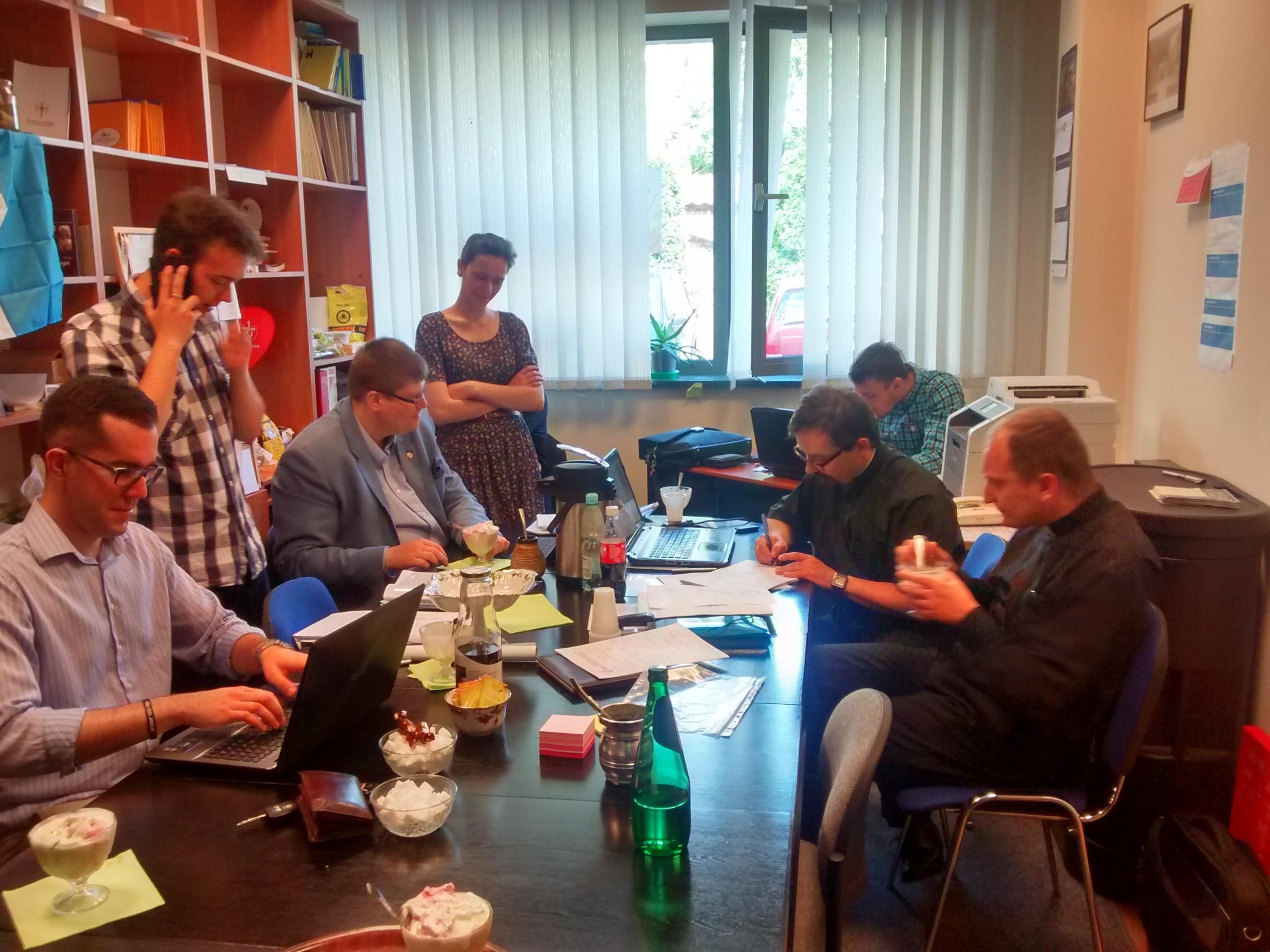 Jovens de Varsóvia contam como estão os preparativos para os Dias nas Dioceses