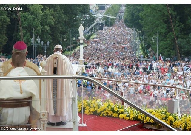 JMJ 2016: Papa visita Czestochowa