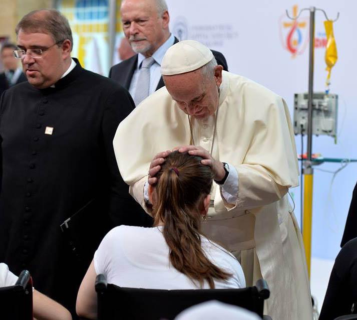 JMJ 2016: Papa visita Hospital Pediátrico Universitário de Prokocim, em Cracóvia