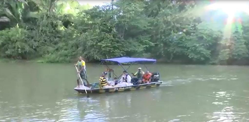 Diocese de Caxias celebra Rota300 com peregrinação no rio