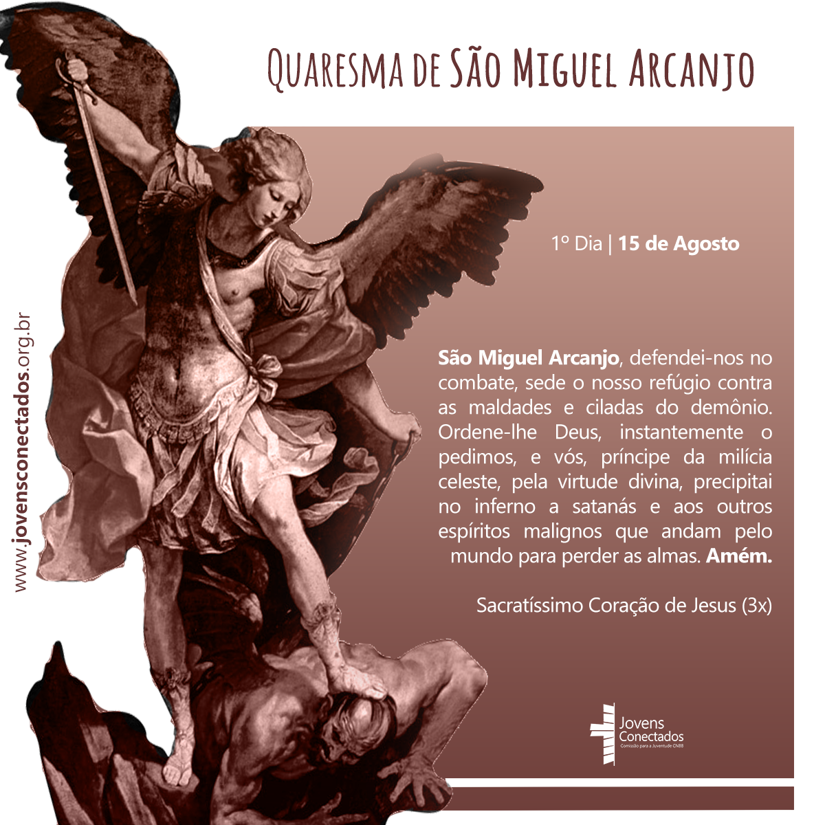 Reze conosco a Quaresma de São Miguel Arcanjo