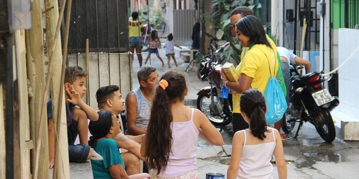 Jovens fazem missão nas Olimpíadas