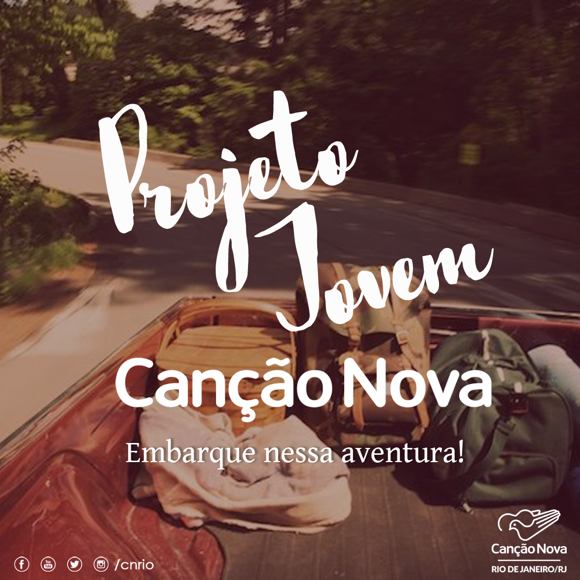 Canção Nova Rio lança novo Projeto Jovem
