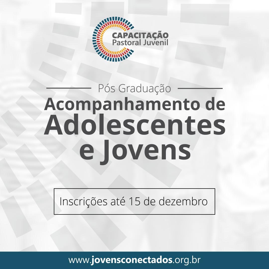 CEPJ oferece pós-graduação para assessores adultos de jovens