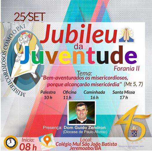 Jubileu da Juventude na Diocese de Paulo Afonso/BA