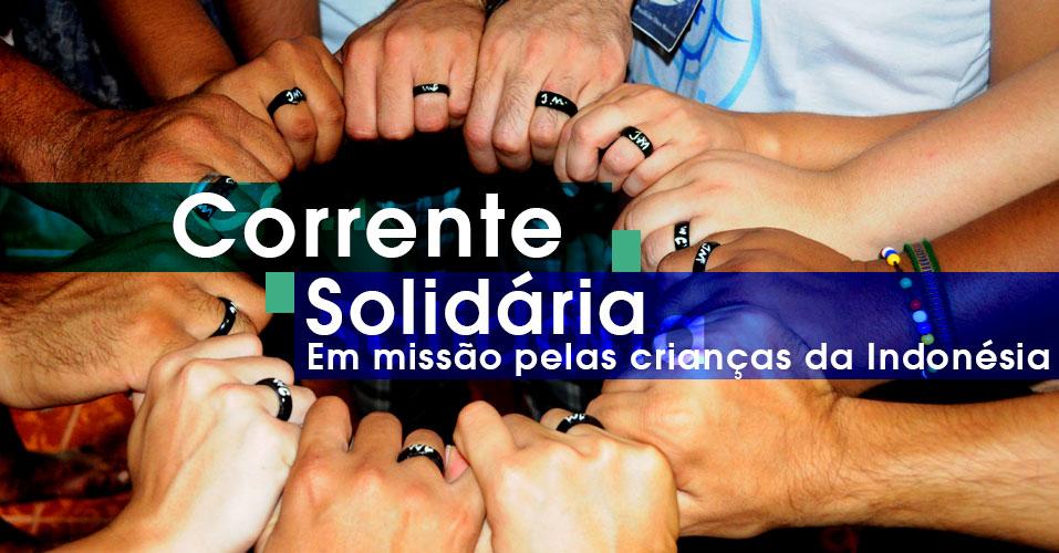 Juventude Missionária (JM) promove campanha solidária