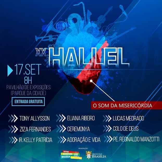 Brasília celebra 20 anos de Hallel